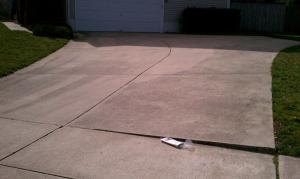 concrete cleaning maryland before