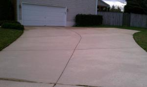 concrete cleaning maryland after